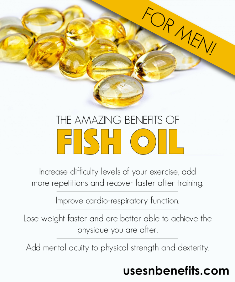 Some interesting benefits of fish oil for men uses and for Health benefits of fish