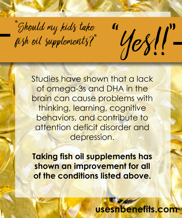 Why fish oil is an essential supplement for your kids for Fish oil supplement dosage