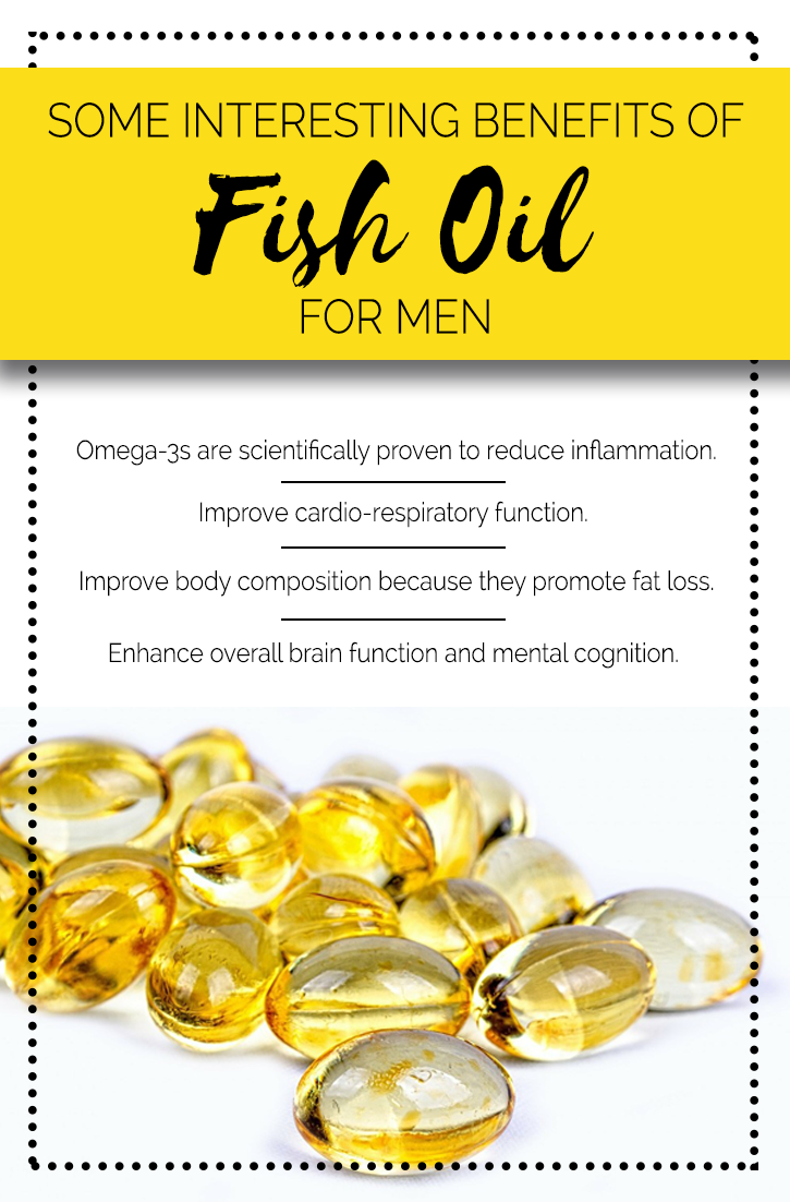 Some interesting benefits of fish oil for men uses and for Fish oil omega 3 benefits