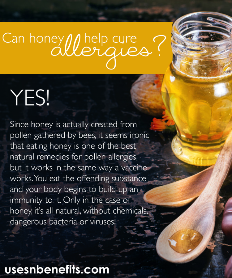 honey for allergies