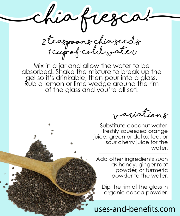 how to eat raw chia seeds