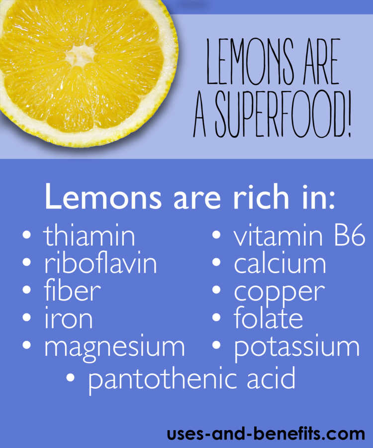 is lemon good for you